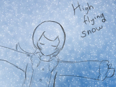 Hyparpax as pr.s - High flying snow
